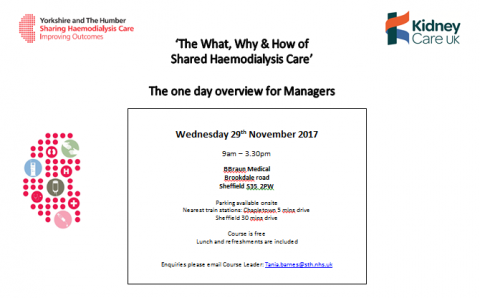 29th November - next One day Overview for Managers